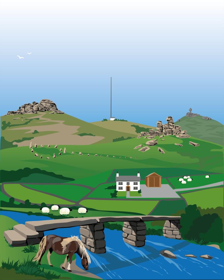 Dartmoor Illustration